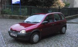 1993 Vauxhall Corsa