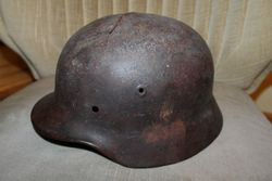 Vokiskas salmas. German helmet WW2. Kaina 48 Eur.