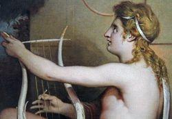 Barry, Education of Achilles, detail, New Haven, Mellen Center