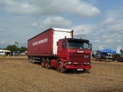 Scania 143 V8 classic truck