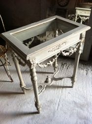 #17/058 Small Wooden Louis XVI Table SOLD