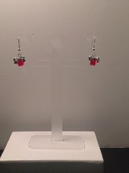 Red Present, Silver Bow (Item #3246) $7.50