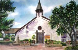 The Church of the Wayfarer #1, Carmel