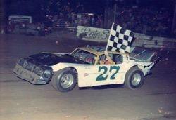 CC Corbin at Godfrey Speedway