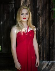 Girl in the Red Dress