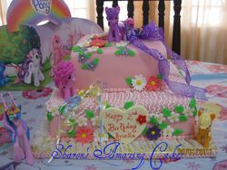 CAKE 32A1 -My Little Pony Cake