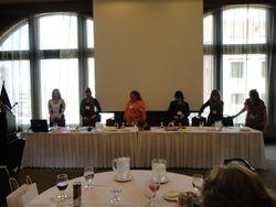 Sara M. Monnette, ALP; Jaclyn Wissmueller; Katy Mathes-Woldt, PLS, CAP; Anne Ihde; Darla Stephenson, PP; and Laura Braun