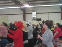 Worship on Hat Night!