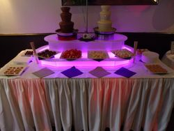 Wonka themed Birthday Party, Sheffield Twin Chocolate Fountain Hire