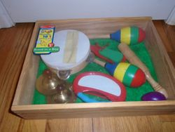 Melissa & Doug Band-in-a-Box 10-Piece Musical Instruments - $10