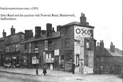 Handsworth, Staffordshire. 1901.