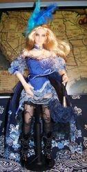 blue saloon girl by Steve T.