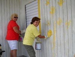 Painting in Jamaica
