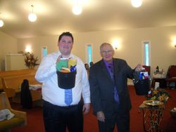 Bro. Sterner and Bro. Bishop