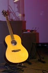 Brent's guitar