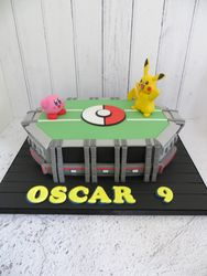 Oscar's 9th Birthday Cake