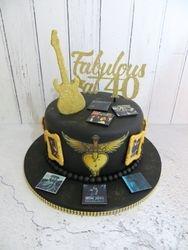 Bon Jovi 40th Birthday Cake