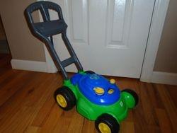 Play Day Push 'N' Bubble Mower - $8