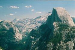 Half Dome andTenaya Canyon