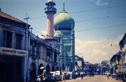 244 Moslem Mosque Singapore 1960
