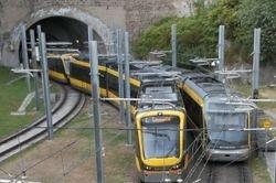 Flexity Swift LRV versus Eurotram.