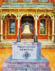 Firefighters Memorial, Monroe NC