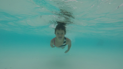 Swimming lessons for babies and kids