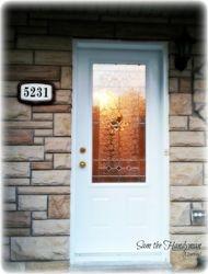 New Exterior Door Installed