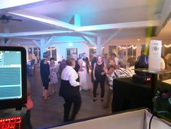Guests Dancing at SJ Marina