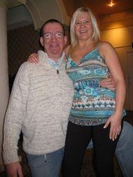Paul Marron with Fhiona Hayling Island Jan 2009