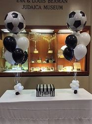 Soccer Balloon Bouquets