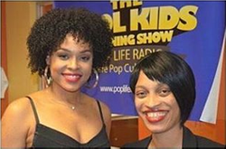 Demetria McKinney visit The Cool Kids Morning Show - Pop Life Radio