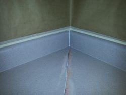 Kitchen Countertop Corner Repair BEFORE