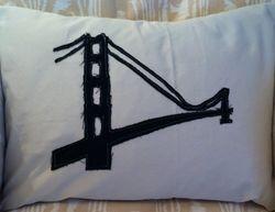 Golden Gate Bridge Pillow