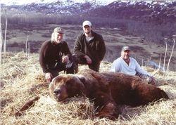 John (Buck) Schmit's Bear