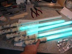 """SMURFS II"" --- custom light swords..."