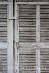 #24/233 French Shutters 8 Pair detail