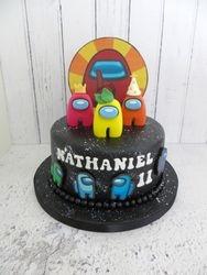 Nathaniel's 11th Birthday Cake