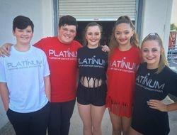 Dancing showcase at Platinum Dance Nationals