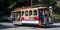 Cable Car #21 Ascending Hyde Street