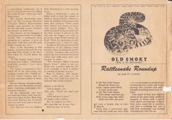 Original 1948 Okeene Rattlesnake Hunt Flyer