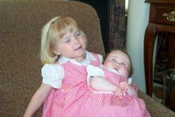 Wonderful sisters.