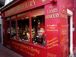 The Lanes Armoury, Brighton, UK