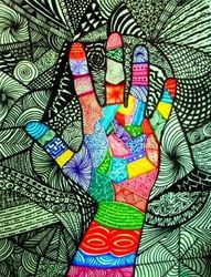 Self Portrait Hand
