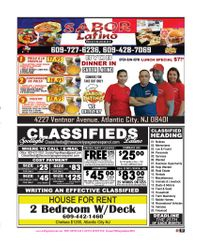 The Society Page en Espanol LOCAL BUSINESS / CLASSIFIEDS
