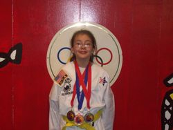 06-05-2011 Championship Adriana Benitez forms 2nd pl breaking 3 rd pl  fighting 2nd pl