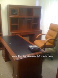 NBF office desk installation service in Washington DC