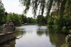 Lake on Royal grounds