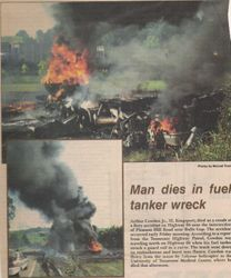 Tanker Wreck Highway 66/Bulls Gap
