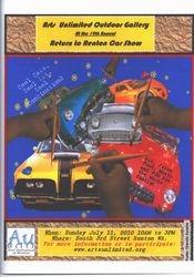 AU 2010 Car Show Poster